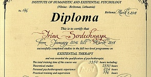 Diploma Institute oа Humanistic and Existential Psychology